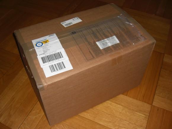 Pakken som kom på døra!